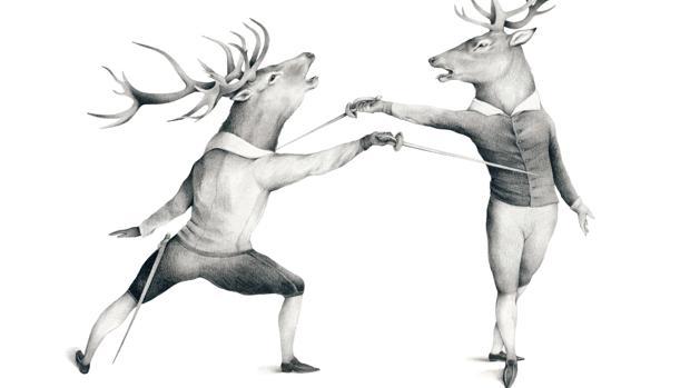 Una de las ilustraciones de Esther García para el libro «La selección natural», publicado por Nórdica