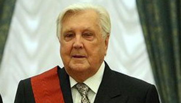 El pintor ruso Ilya Glazunov