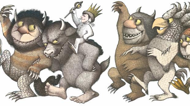 Dibujo perteneciente a «Donde viven los monstruos», de Maurice Sendak