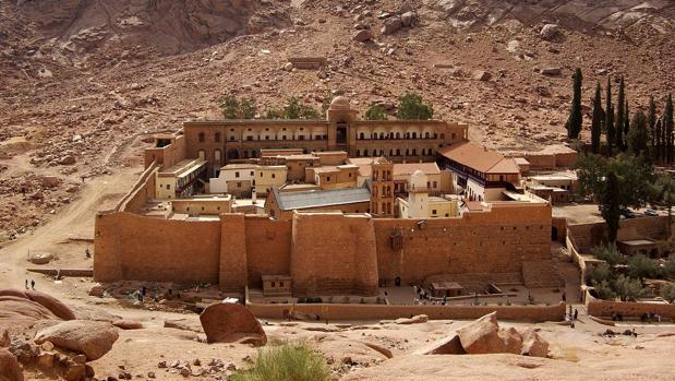 El monasterio de Santa Catalina del Monte Sinaí