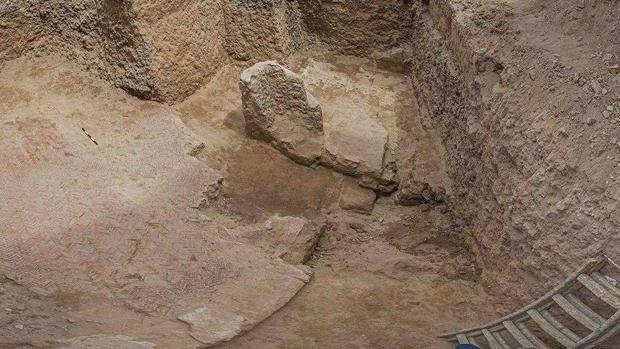 El mosaico descubrierto hace unos días en la ciudad egipcia de Alejandría