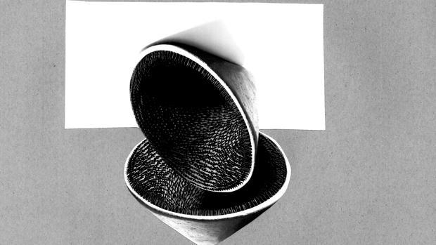 Obra de la serie «Apuntes sobre topología escultórica #1»