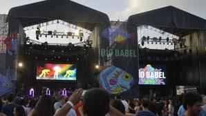 Escenarios del festival Río Babel