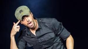 Enrique Iglesias, durante un concierto en San Antonio (Texas)