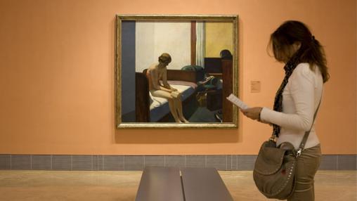 La segunda exposición más visitada en los 25 años del museo fue la de Hopper