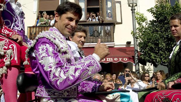 Francisco Rivera Ordóñez, de goyesco en Ronda