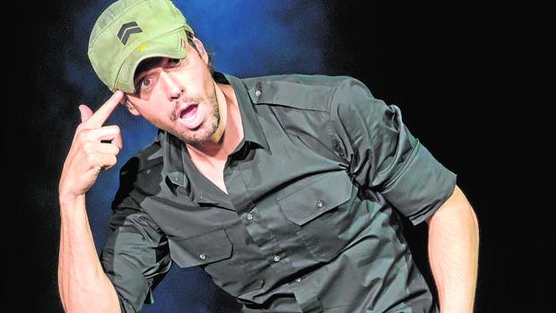 Enrique Iglesias en un concierto en Texas