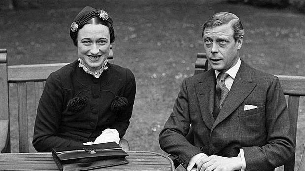 El duque de Windsor y su mujer, Wallis Simpson