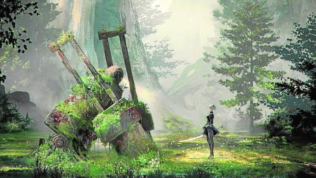 Los androides y la reflexión filosófica se combinan en «Nier: Automata»