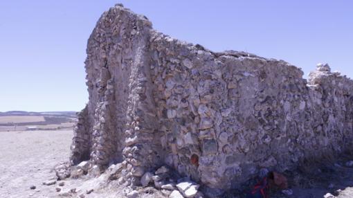 Ruinas de la ermita de la Virgen de la Muela