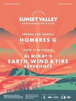 Cartel del Sunset Valley Festival