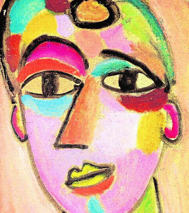 «Cabeza mística: joven II», de Alexéi Jawlensky