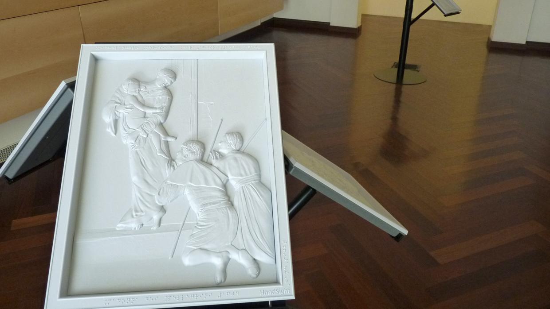 «Contacto», la muestra que permite sentir a Caravaggio con las manos