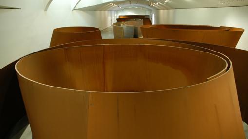 La materia del tiempo. Esta sala reúne ocho esculturas de gran formato de Richard Serra
