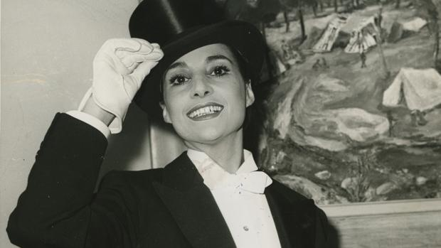 Nati Mistral, en una imagen de juventud