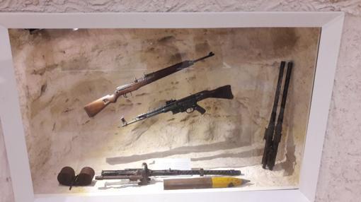 Armamento utilizado en la II Guerra Mundial durante la batalla de El Alamein