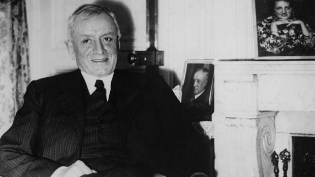 Fritz Thyssen, en su hotel de París el 8 de abril de 1940