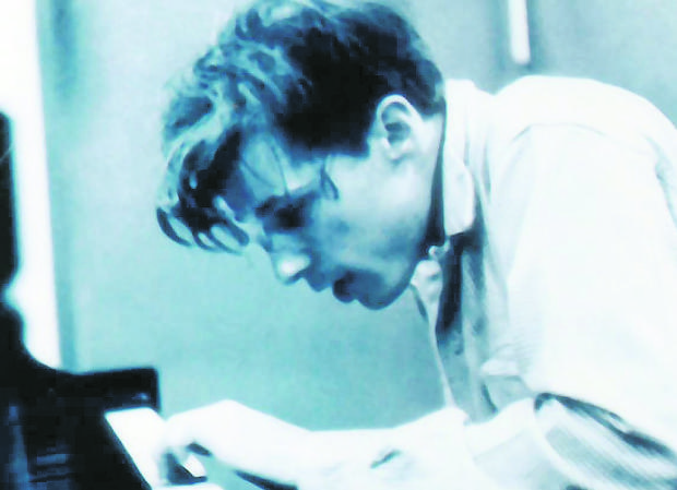 Glenn Gould, al piano