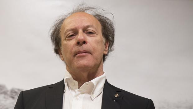 El escritor Javier Marías, fotografiado en Madrid durante la presentación de «Berta Isla»