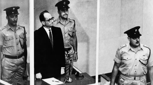 Adolf Eichmann, juzgado en 1961 en Israel