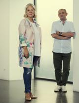 Raquel Ponce y José Robles