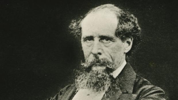 Retrato de Charles Dickens (1868-1870)