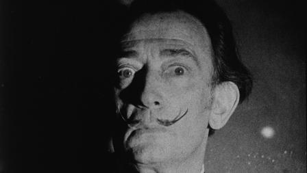 Dalí, grabado por Warhol