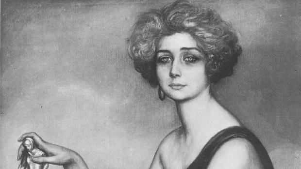 El retrato que Julio Romero de Torres pintó de Teresa Wilms Montt