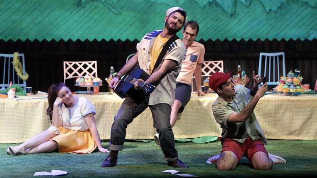 Una imagen de «Dido y Eneas»