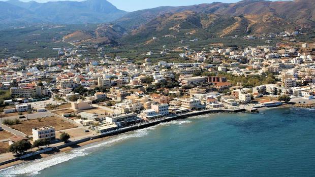 Panorámica de Kissamós (Creta)