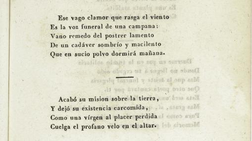El poema que recitó en el entierro de Larra
