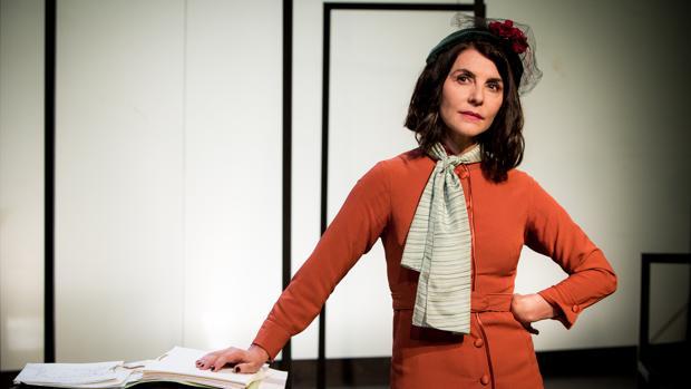 Ana Fernández, en una escena de la obra