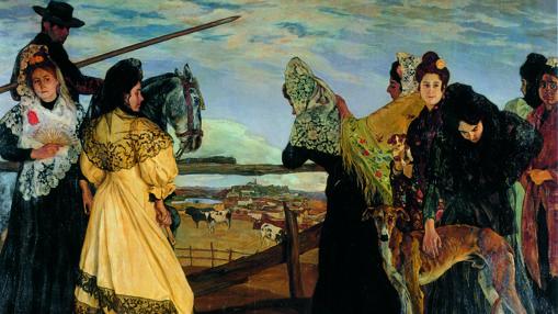 «Víspera de la corrida» (1898), de Zuloaga