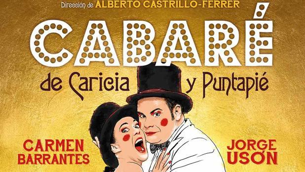 Cartel de «Cabaré de Caricia y Puntapié»