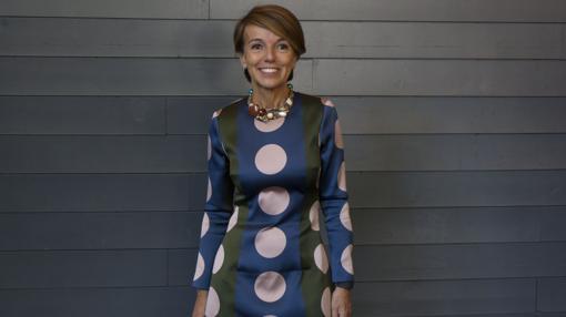 Patrizia Sandretto Re Rebaudengo, en Matadero Madrid, adonde llevará parte de su colección en 2019