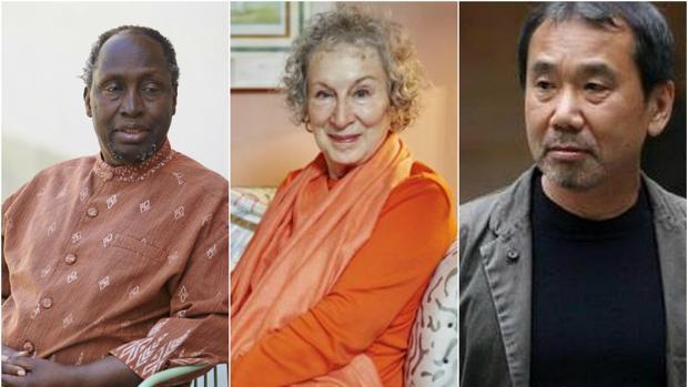 Ngugi Wa Thiong'o, Margaret Atwood y Haruki Murakami