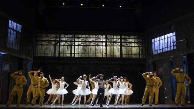 Una escena de «Billy Elliot»