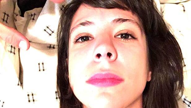 El selfie que Aixa de la Cruz dedica a ABC Cultural