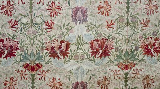 Tejido Honeysuckle (Madreselva), de William Morris