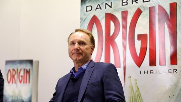 Dan Brown en la Feria del Libro de Fráncfort