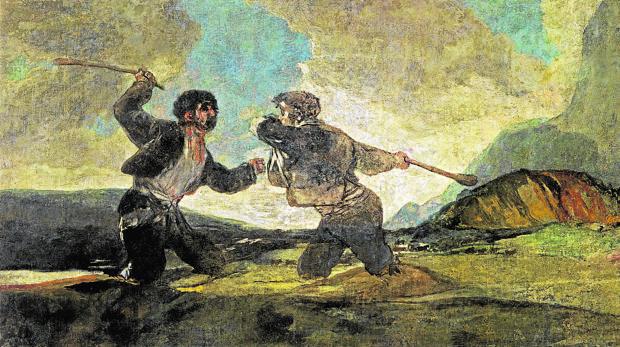 «Dielo a garrotazos», de Goya