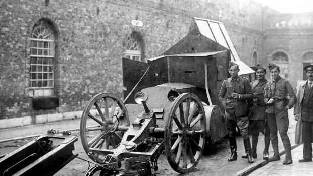 Armamento de los revolucionarios en Asturias