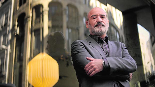 El autor Fernando Aramburu, fotografiado en Madrid poco después de haber publicado «Patria»