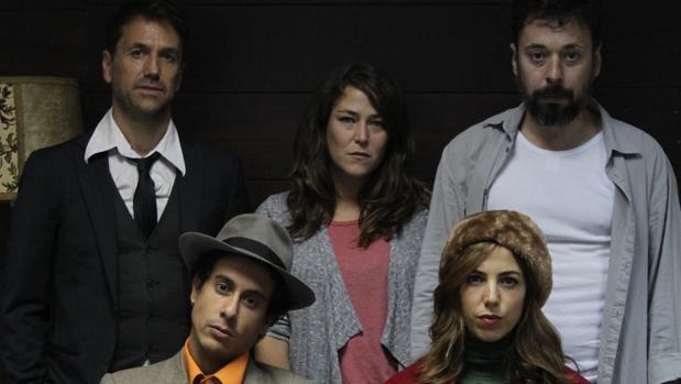 Oriol Tarrason, Teresa Hurtado de Ory, Alejandro Cano, José Gómez Friha y Alicia Rubio