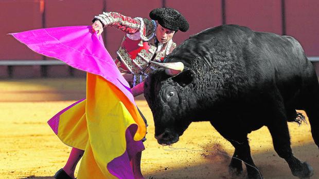 Antonio Ferrerra, en la Feria de Abril