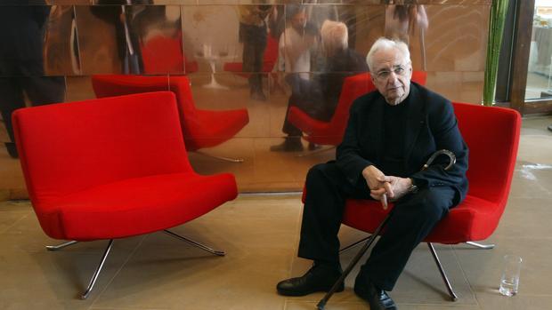 Gehry en una de sus últimas comparecencias en España
