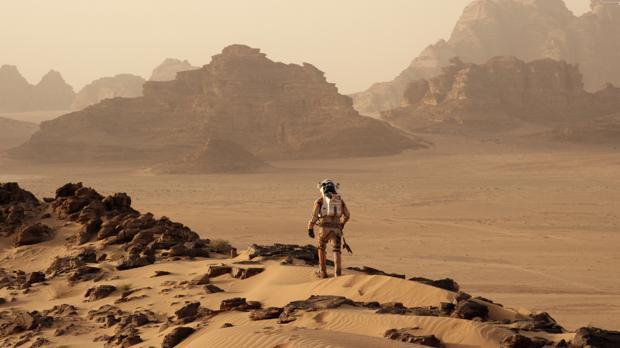 Fotograma de la película «Marte», de Ridley Scott