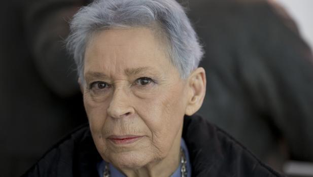 Isabel Quintanilla, en el Museo Thyssen en febrero del año pasado