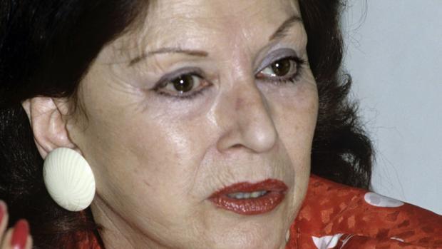 Fotografía de archivo del 26 de marzo de 1990 de María Cristina del Pino Segura