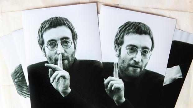 Unas de las imágenes desconocidas de Lennon